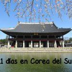 11 días en Corea del Sur (con bajo presupuesto)