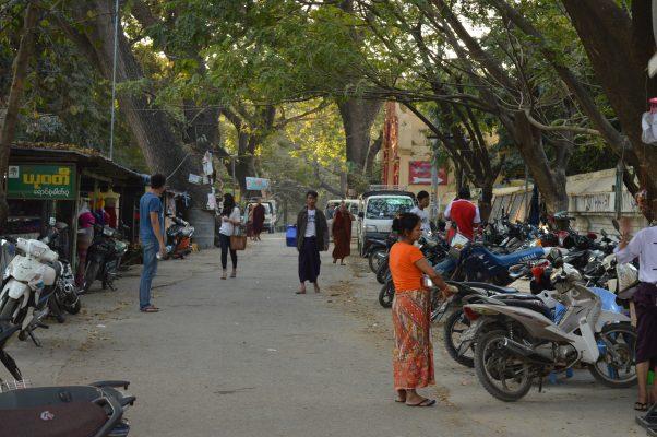 Calles de Mandalay Myanmar