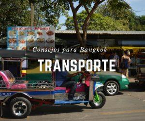 Transporte en Bangkok, Tailandia