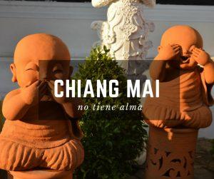 Budas de Chiang Mai en Tailandia