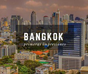 Skyline de Bangkok, Tailandia