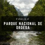 3 días en el Parque Nacional de Ordesa en Pirineos