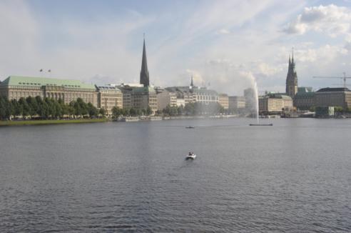 Hamburgo lago