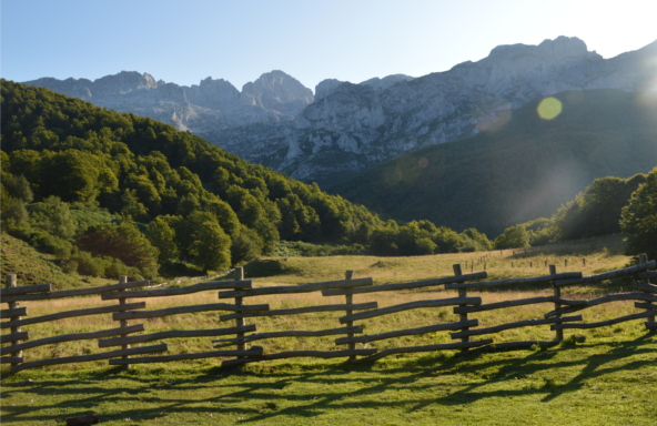 Vistas Picos de Europa.